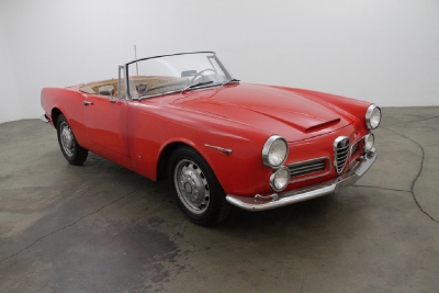 1966 Alfa Romeo 2600 Spider width=