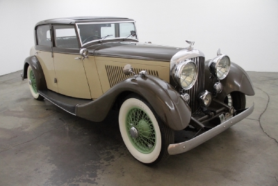 1934 Bentley Derby Coachbuilt by Freestone and Webb