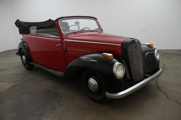 1952 Mercedes-Benz 220B Cabriolet