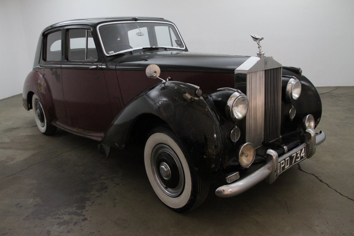 1954 Rolls Royce Silver Dawn Right Hand Drive