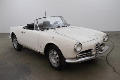 1963 Alfa Romeo Spider 1600