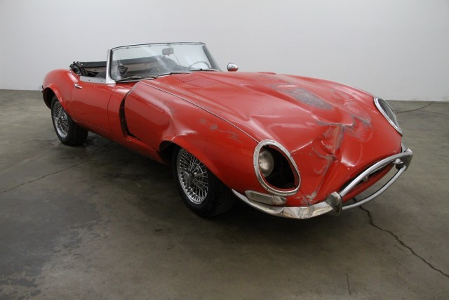 1962 Jaguar XKE Roadster Flat Floor