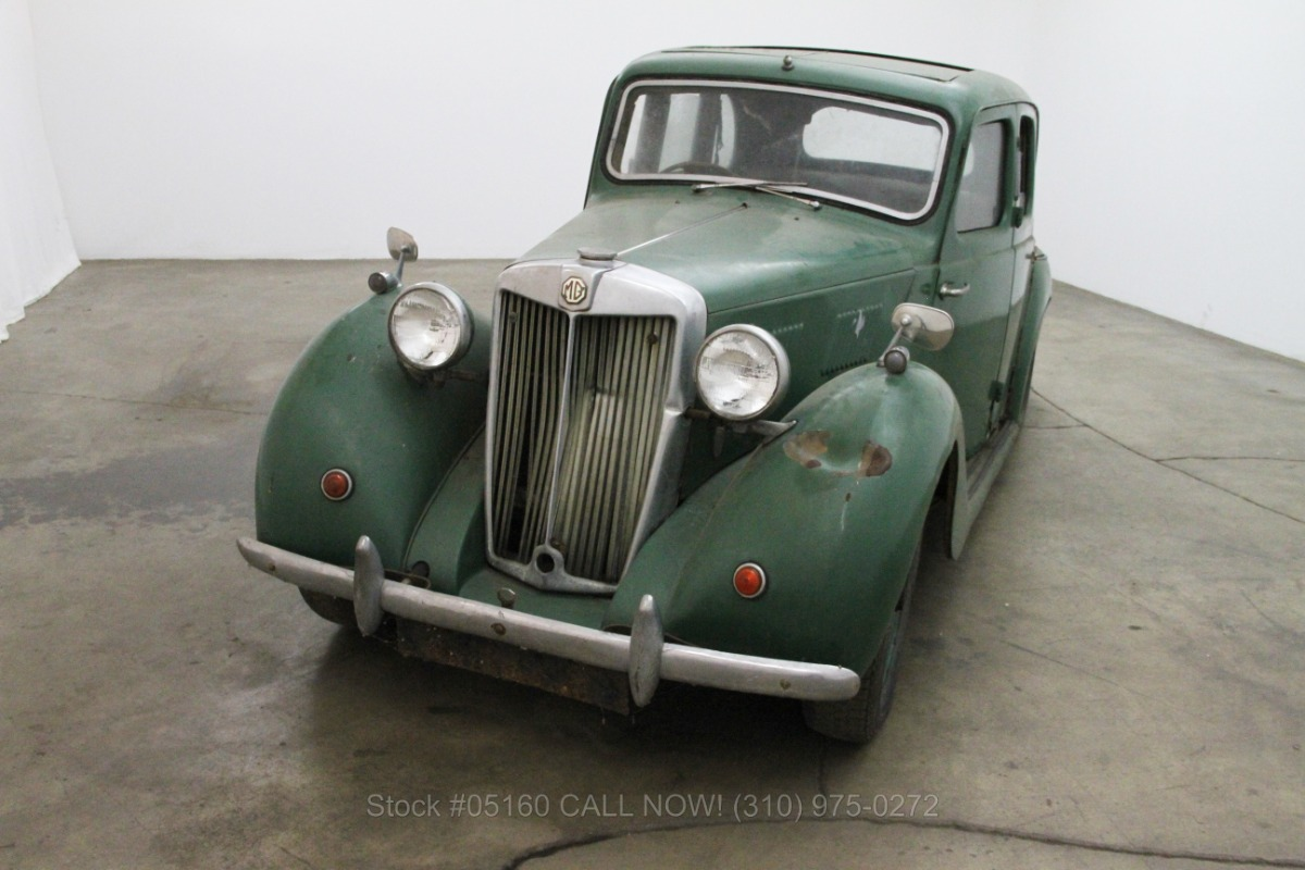 1952 Mg Yb Rhd Beverly Hills Car Club
