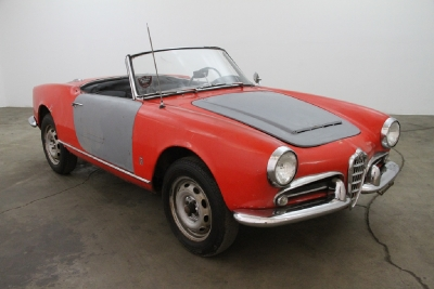 1965 Alfa Romeo Giulia Veloce Spyder