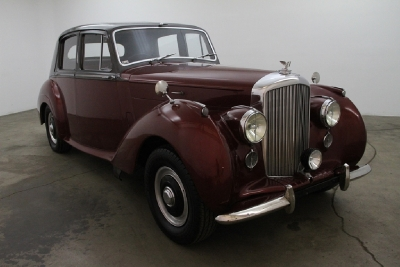 1954 Bentley MK Right Hand Drive