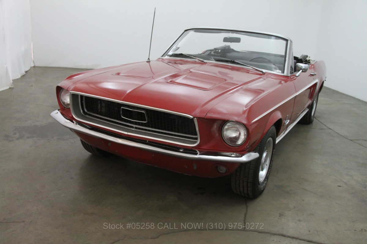 1968 ford mustang beverly hills car club