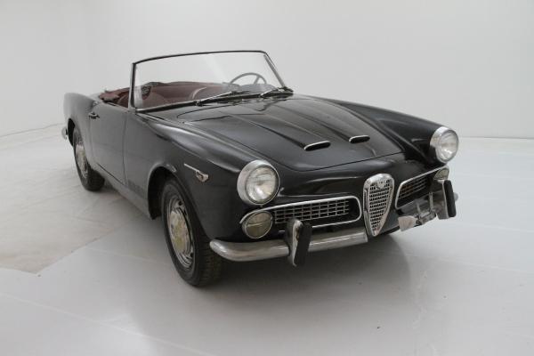 1962 Alfa Romeo 2000 Touring Spider