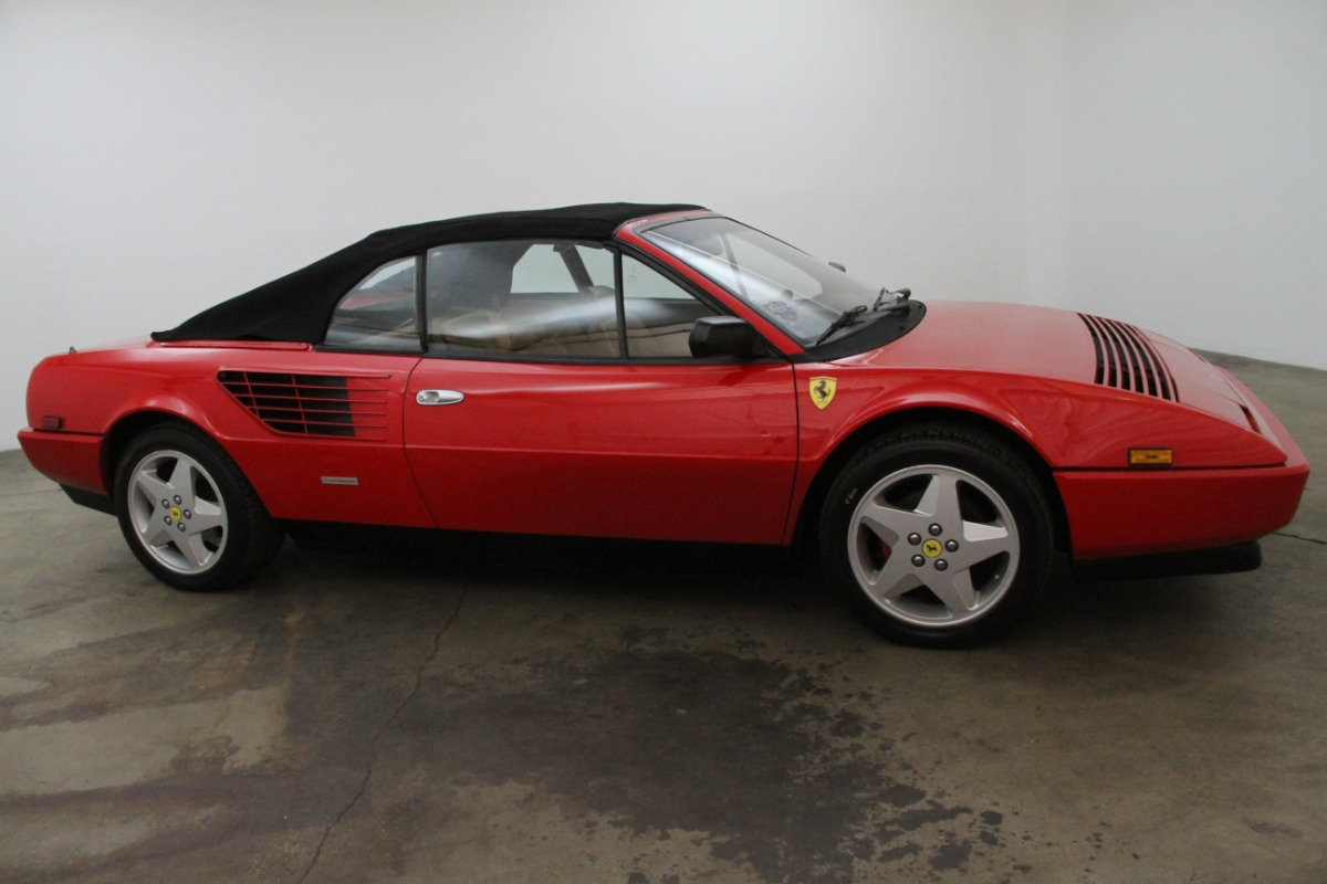 ferrari mondial qv convertible 1984 ferrari mondial qv convertible sports car market ferrari. Black Bedroom Furniture Sets. Home Design Ideas