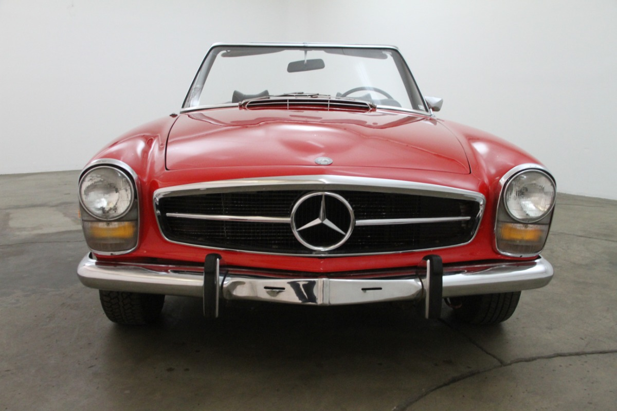 1969 mercedes benz 280sl beverly hills car club for Beverly hills mercedes benz service