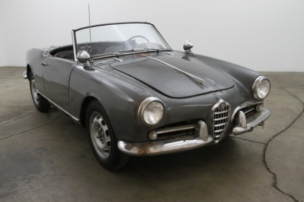 1959 Alfa Romeo Guilletta Spider