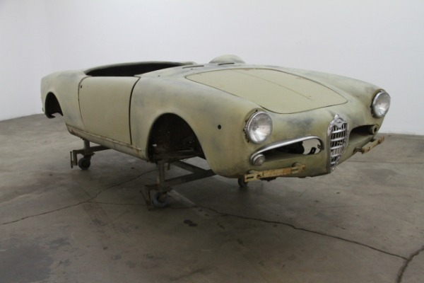 1961 Alfa Romeo Guiletta Spider