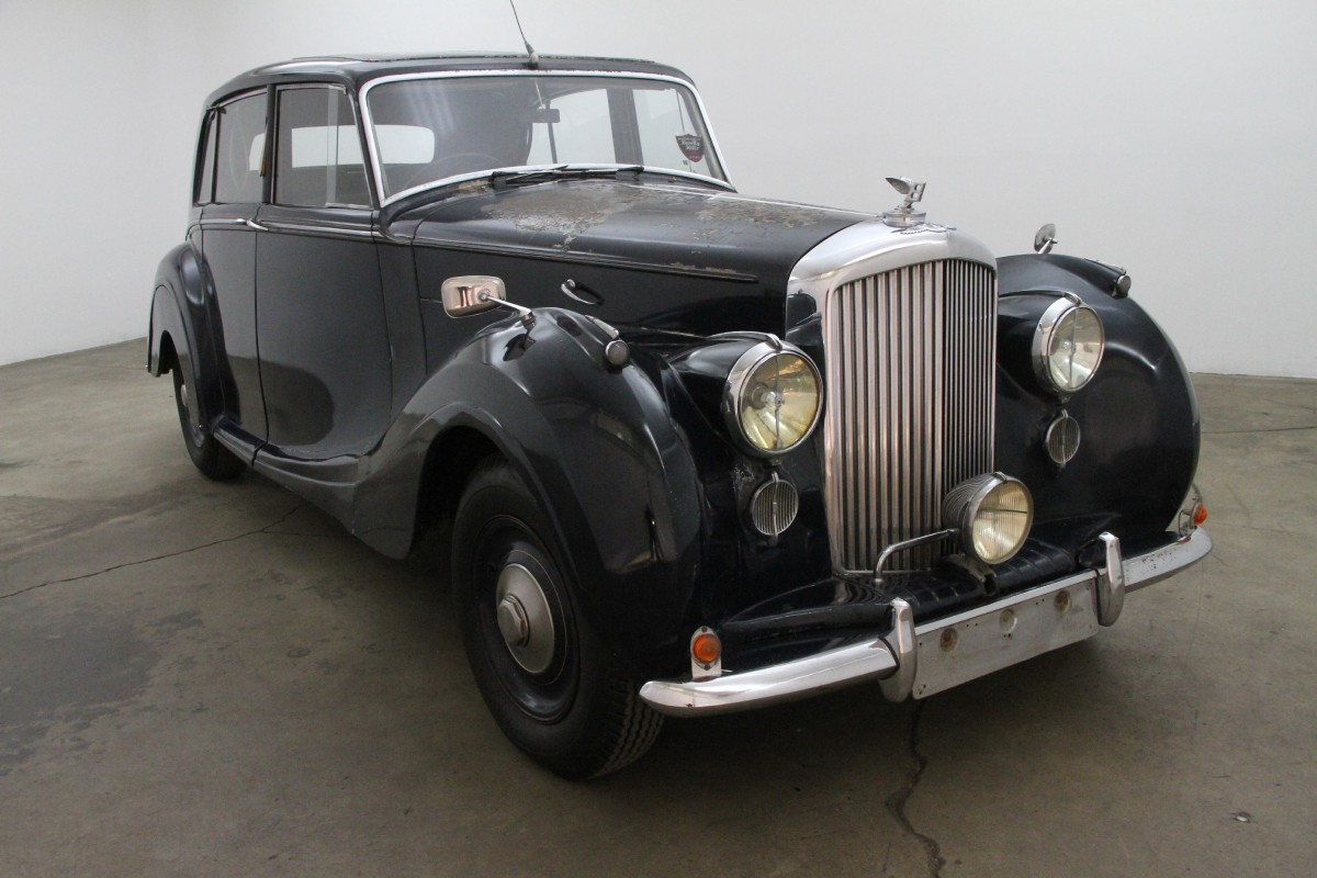 1949 Bentley Mk Vi Saloon By H J Mulliner Right Hand Drive