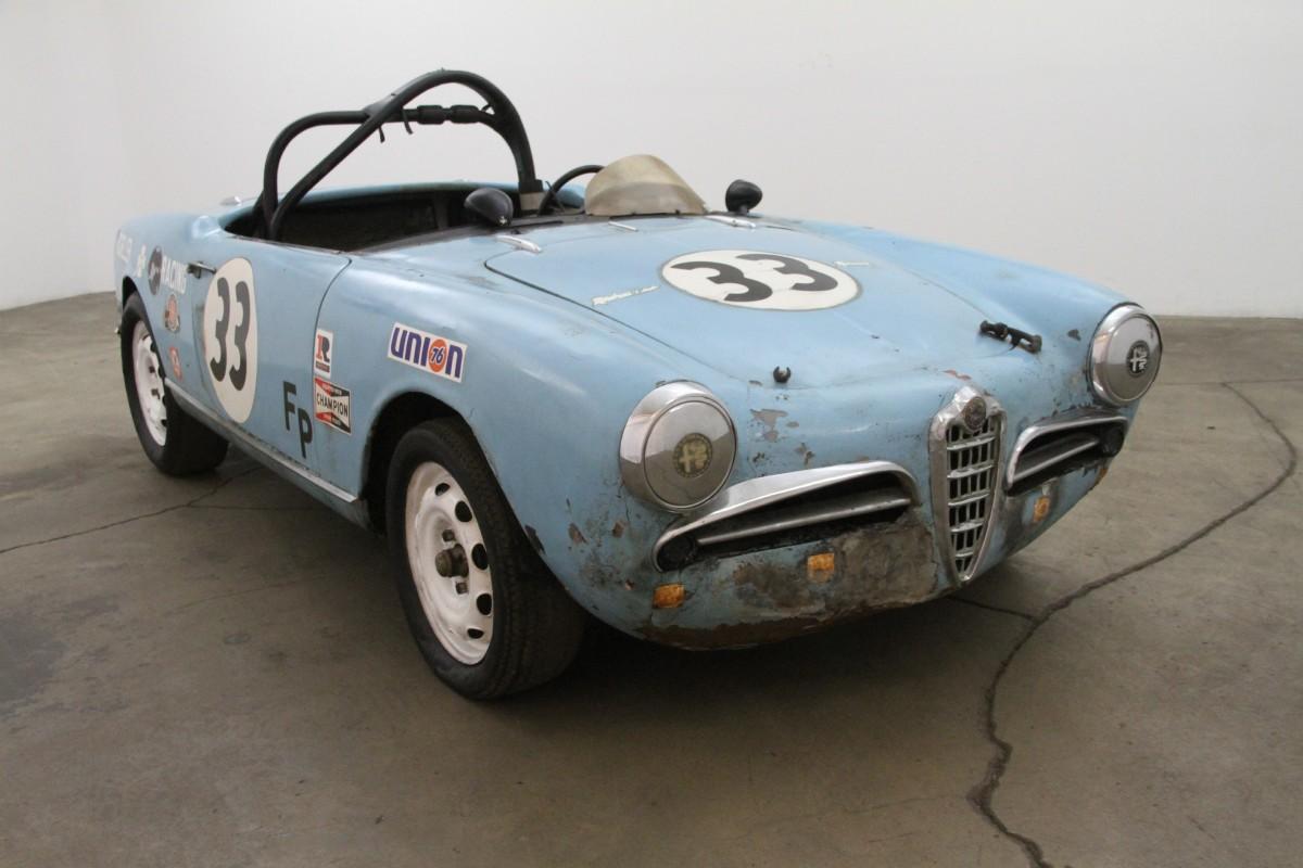 1959 Alfa Romeo Spider Veloce Beverly Hills Car Club