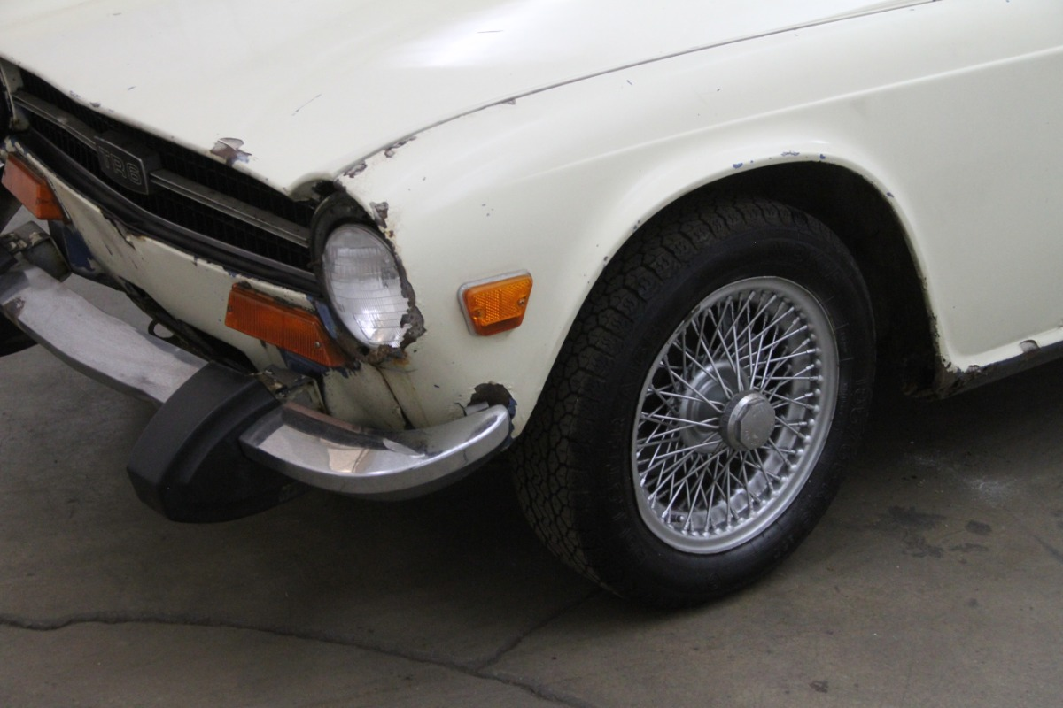 1974 Triumph TR6 | Beverly Hills Car Club
