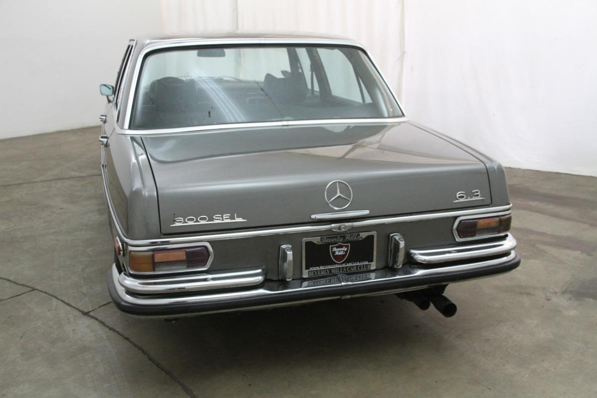 1971 mercedes benz 300sel 6 3 beverly hills car club for Buy classic mercedes benz