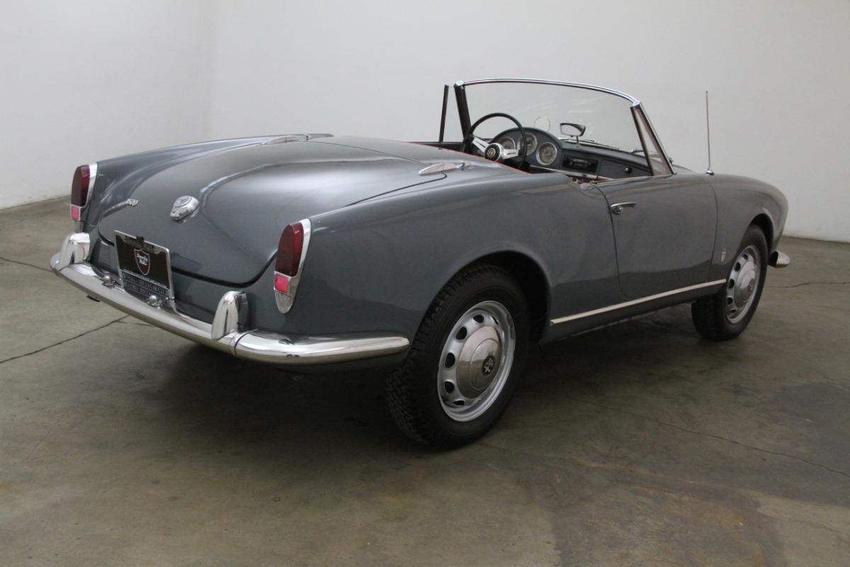 1964 Alfa Romeo Giulia Spider  Beverly Hills Car Club