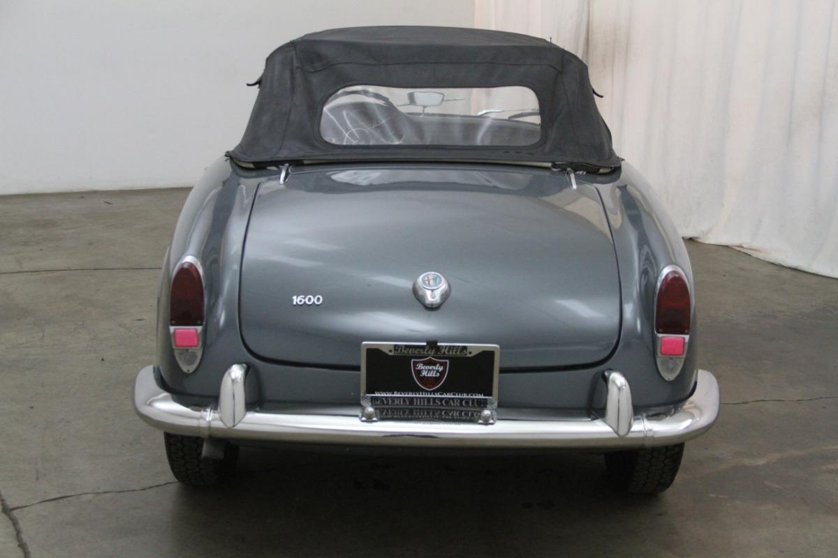 1964 Alfa Romeo Giulia Spider Beverly Hills Car Club 1961 Giulietta Heck Used Los Angeles Ca