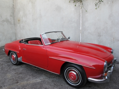 1956 mercedes benz 190sl for Mercedes benz of beverly hills inventory