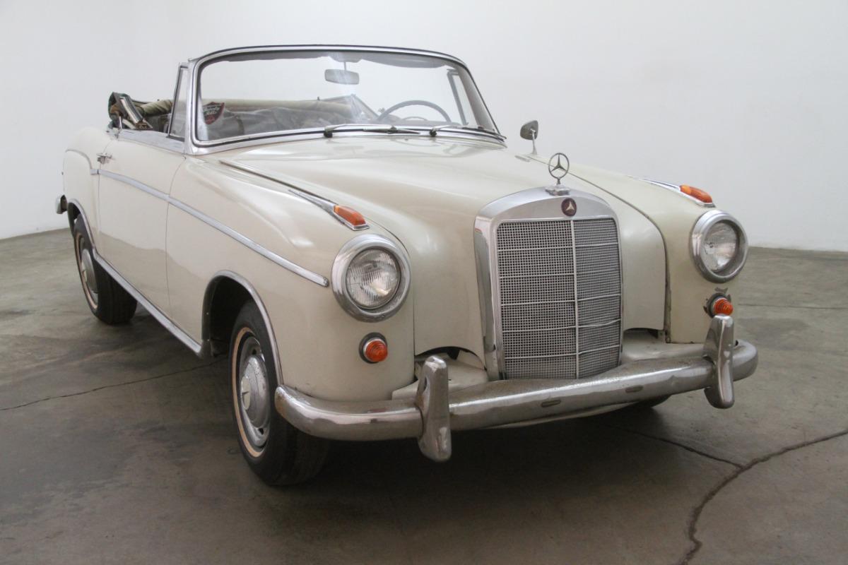 1957 mercedes benz 220s cabriolet beverly hills car club for 1957 mercedes benz 220s