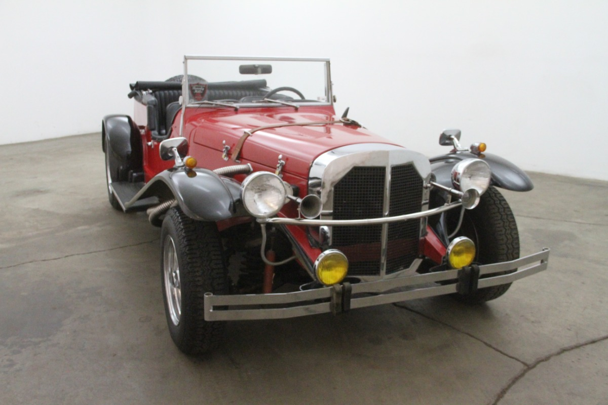 1929 mercedes benz gazelle replica beverly hills car club for 1929 mercedes benz