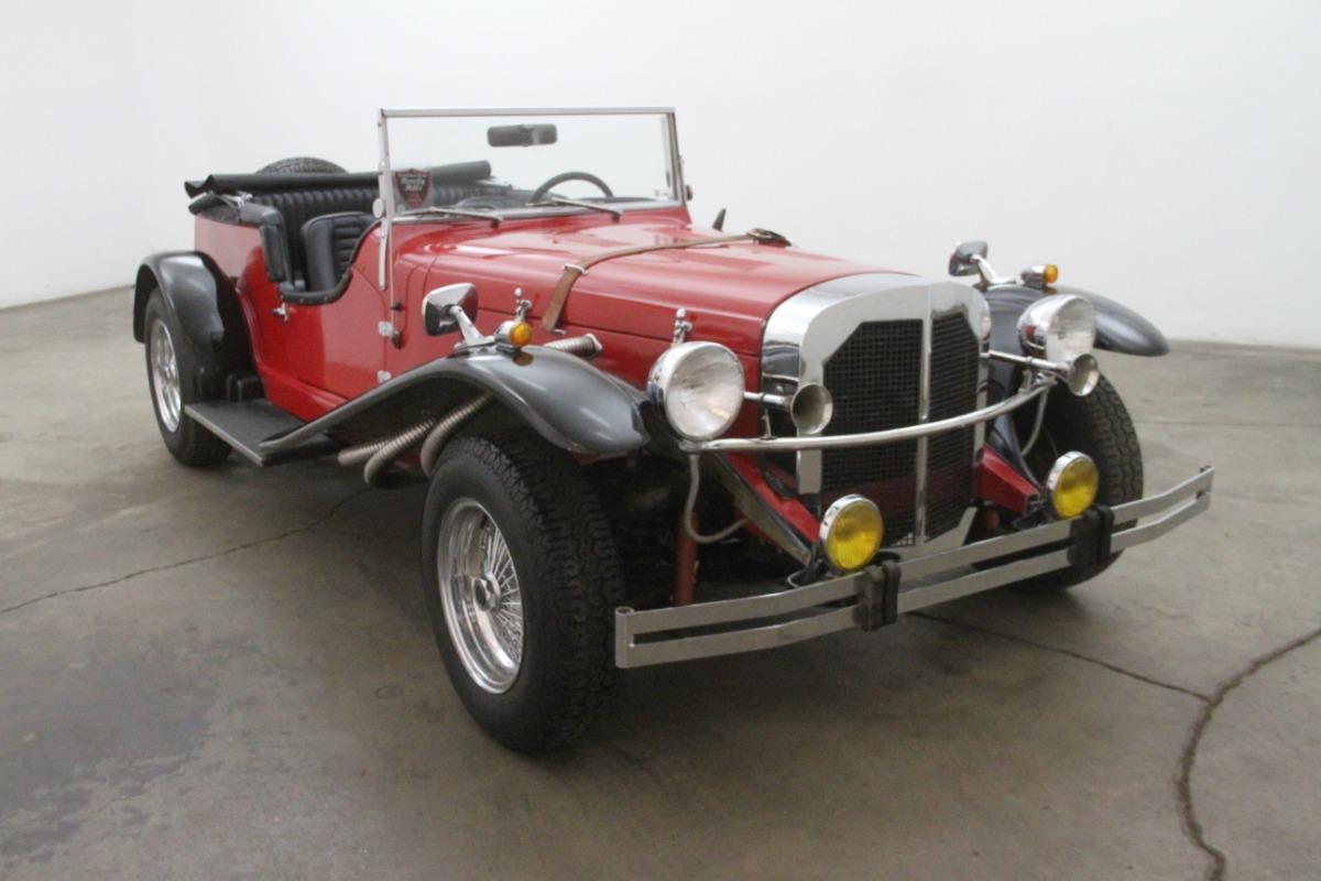 1929 mercedes benz gazelle replica beverly hills car club for Mercedes benz gazelle
