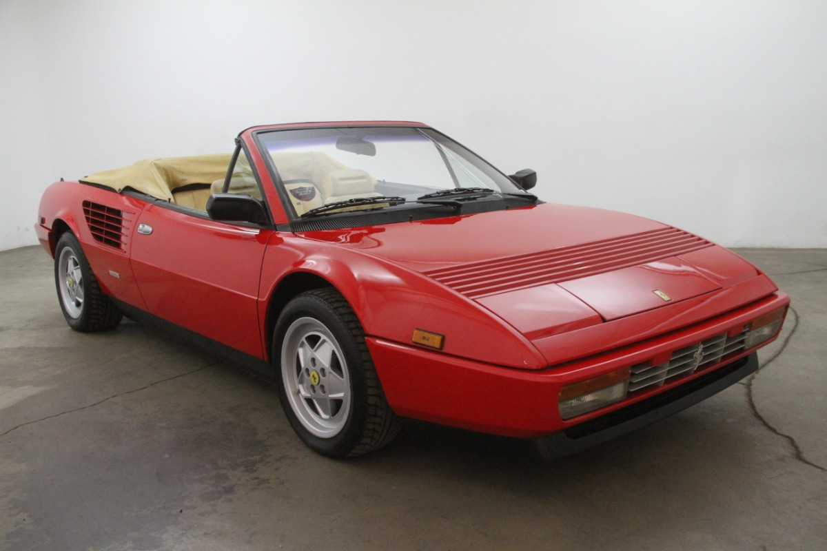 1988 ferrari mondial convertible beverly hills car club. Black Bedroom Furniture Sets. Home Design Ideas