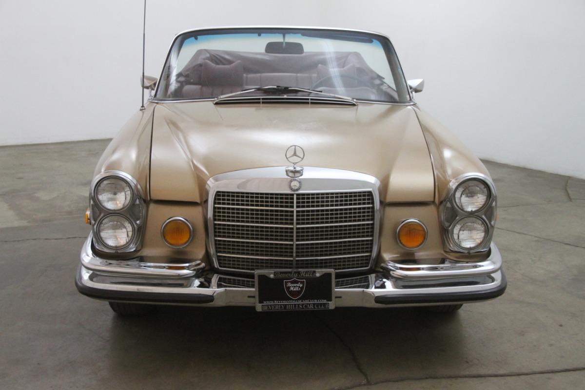 1971 mercedes benz 280se 3 5 cabriolet beverly hills car for Mercedes benz service beverly hills