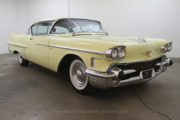 1958 Cadillac Series 62 Coupe De Ville