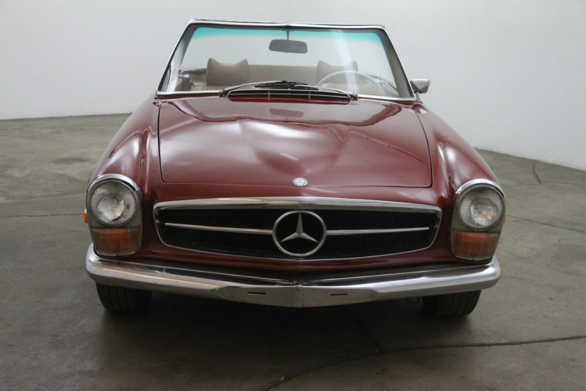 1970 mercedes benz 280sl beverly hills car club for Mercedes benz in beverly hills