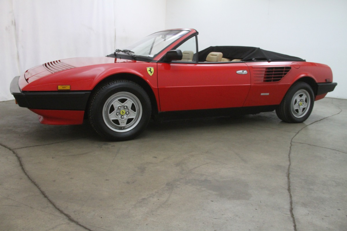 1984 ferrari mondial spider beverly hills car club. Black Bedroom Furniture Sets. Home Design Ideas
