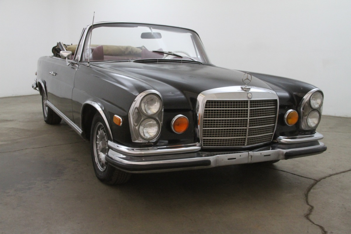 1971 mercedes benz 280se 3 5 cabriolet conversion for Beverly hills mercedes benz service