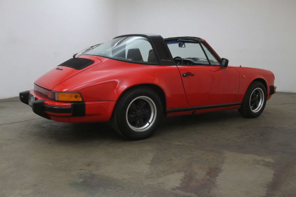 1984 Porsche Carrera Targa Beverly Hills Car Club