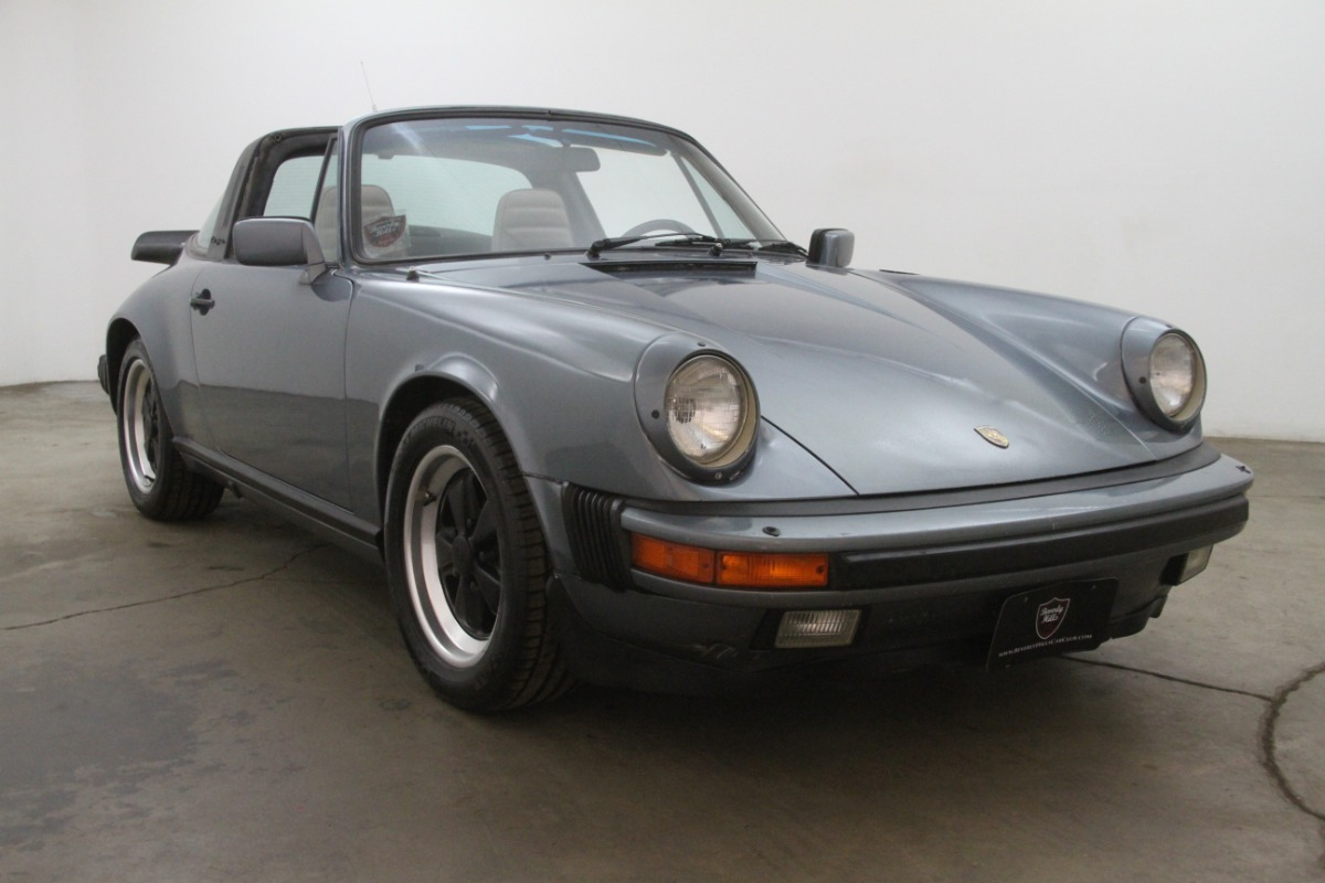 1984 Porsche Carrera Targa Beverly Hills Car Club