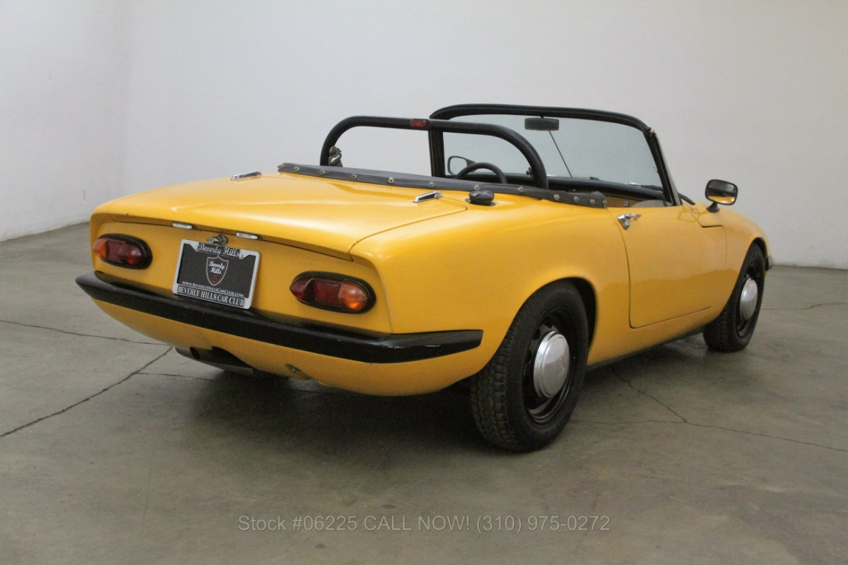 1967 Lotus Elan S2 Roadster   Beverly Hills Car Club