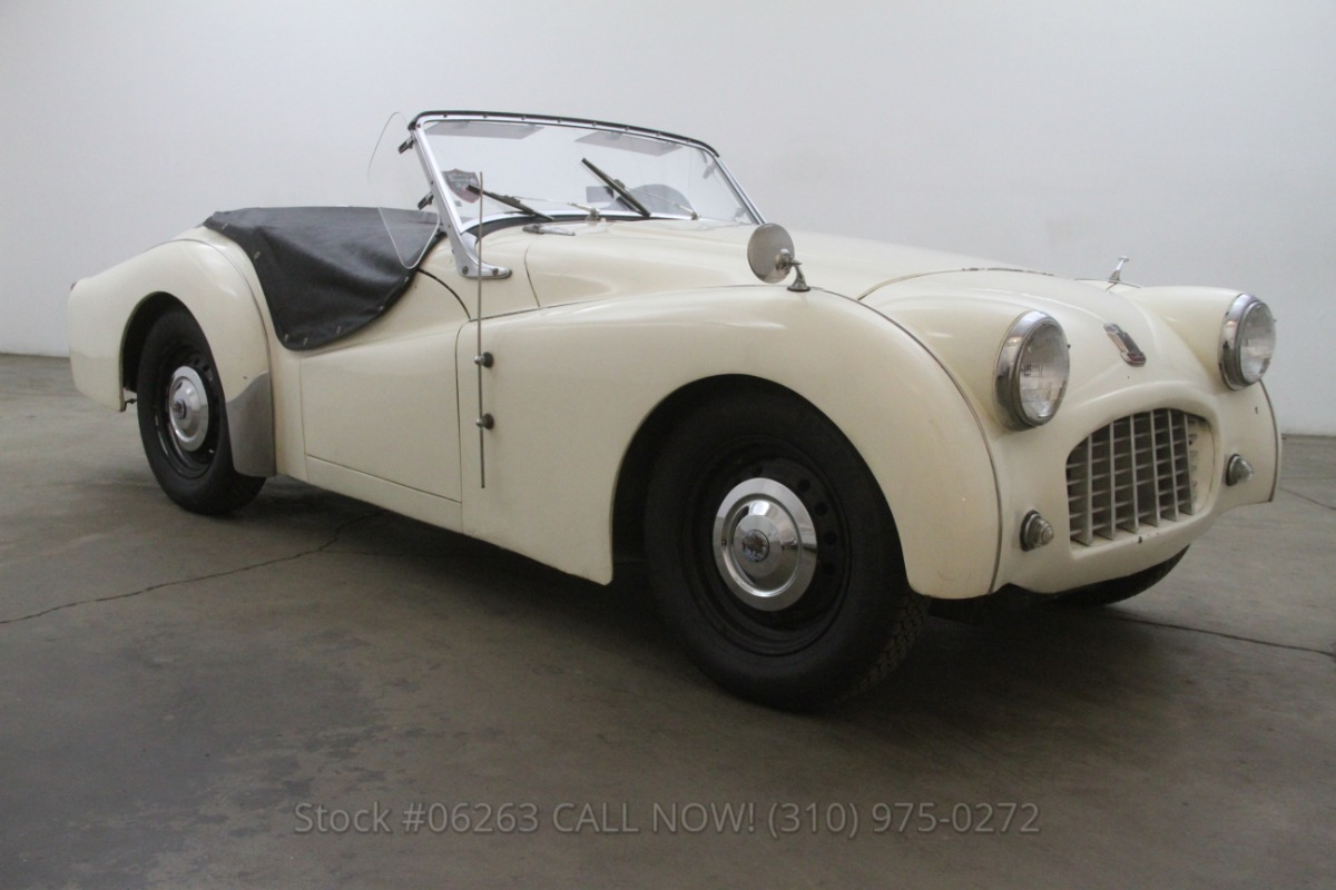 1957 Triumph TR3 Small Mouth | Beverly Hills Car Club