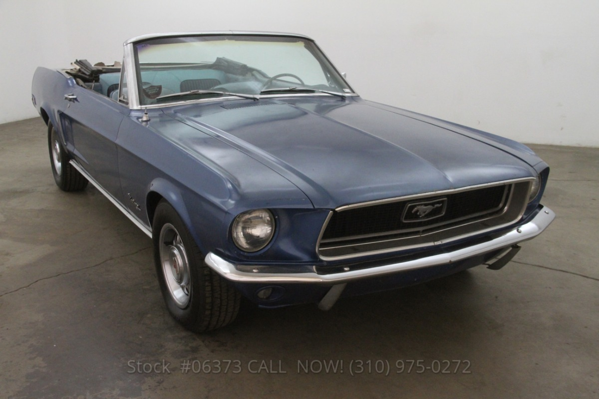 1968 Ford Mustang Convertible 289