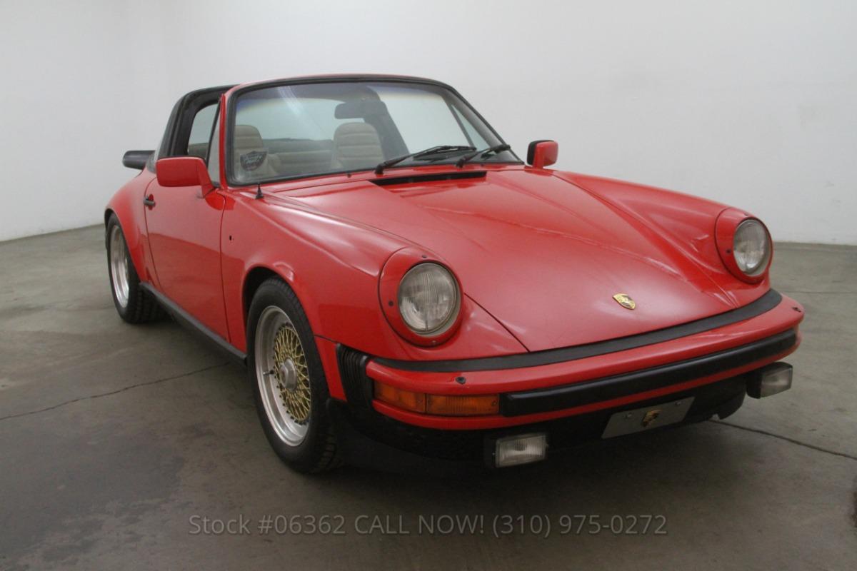 1982 Porsche 911sc Targa Beverly Hills Car Club