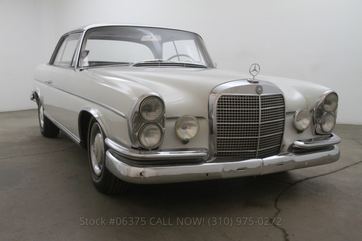 1964 mercedes benz 300se sunroof coupe beverly hills car for Mercedes benz sunroof