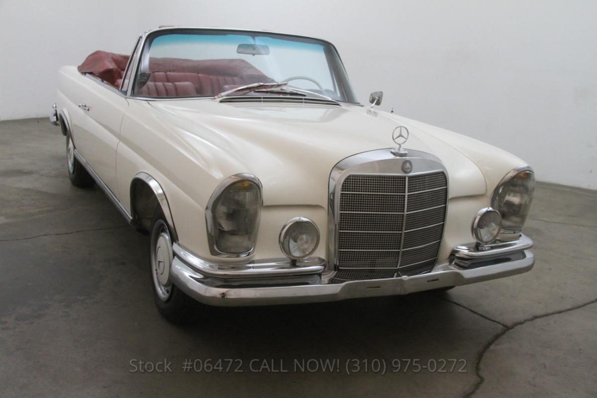 1965 mercedes benz 220se cabriolet beverly hills car club for Mercedes benz service beverly hills