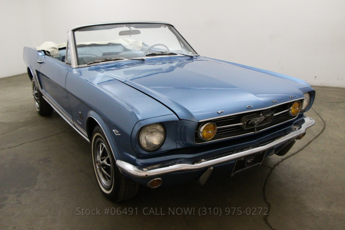 1966 ford mustang convertible 289 beverly hills car club. Black Bedroom Furniture Sets. Home Design Ideas
