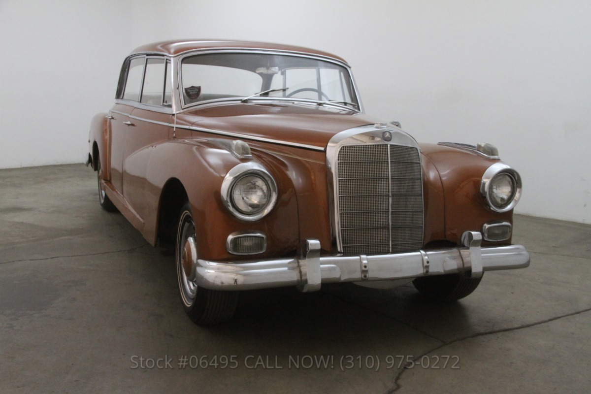 1958 mercedes benz 300d adenauer beverly hills car club for Beverly hills mercedes benz service