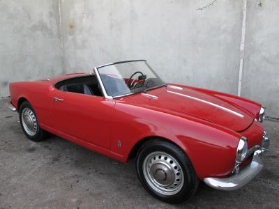1958 Alfa Romeo Giulietta Spider  width=