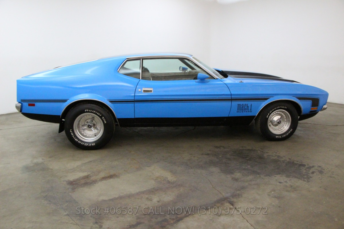 1971 Ford Mustang Fastback Beverly Hills Car Club Mach 1 Used Los Angeles Ca