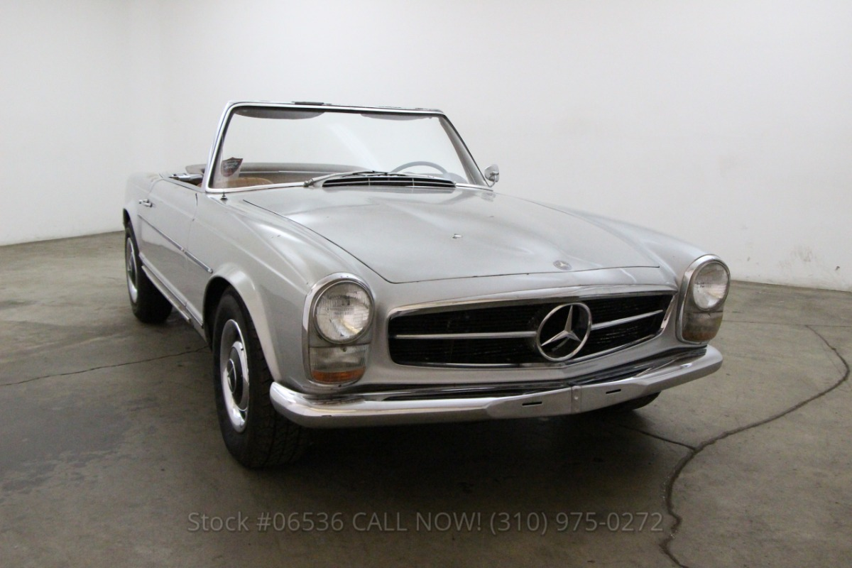 1965 mercedes benz 230sl beverly hills car club for Mercedes benz 230sl