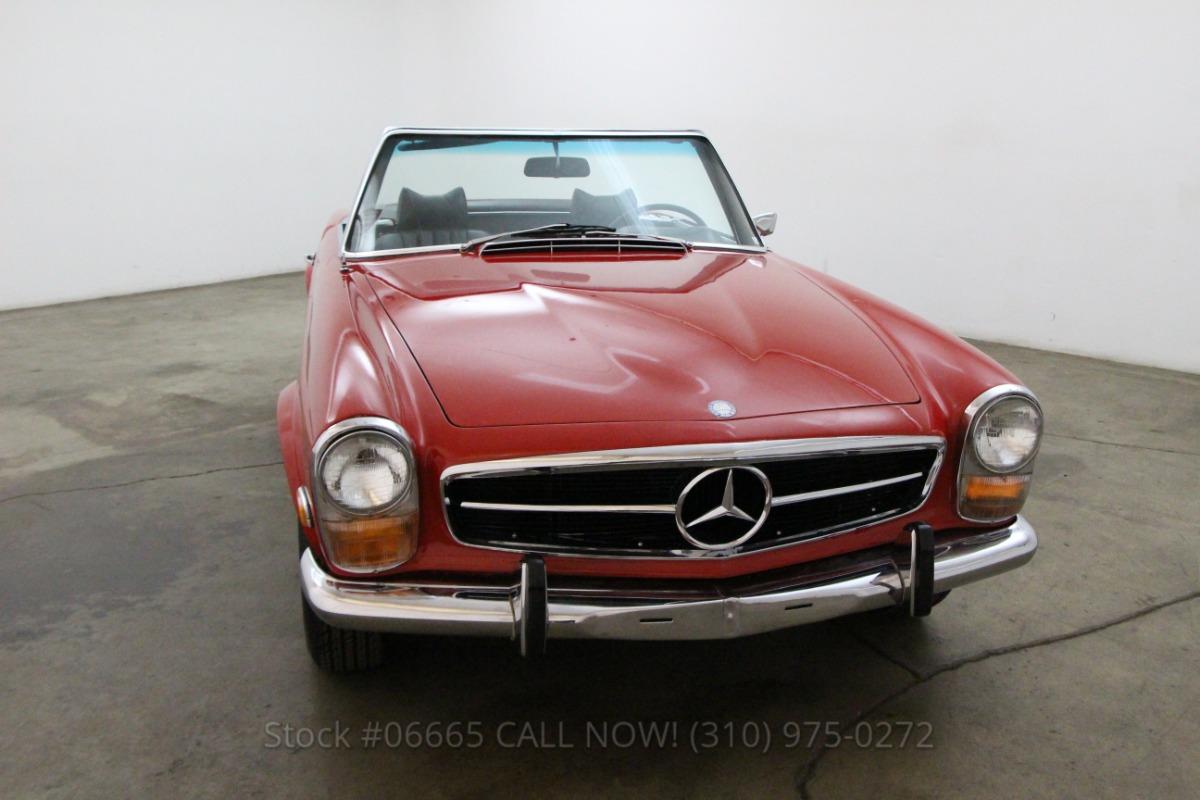 1969 mercedes benz 280sl beverly hills car club for Mercedes benz service beverly hills