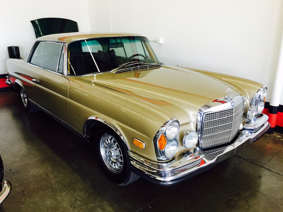 1971 Mercedes Benz 280se 3 5 Coupe Beverly Hills Car Club