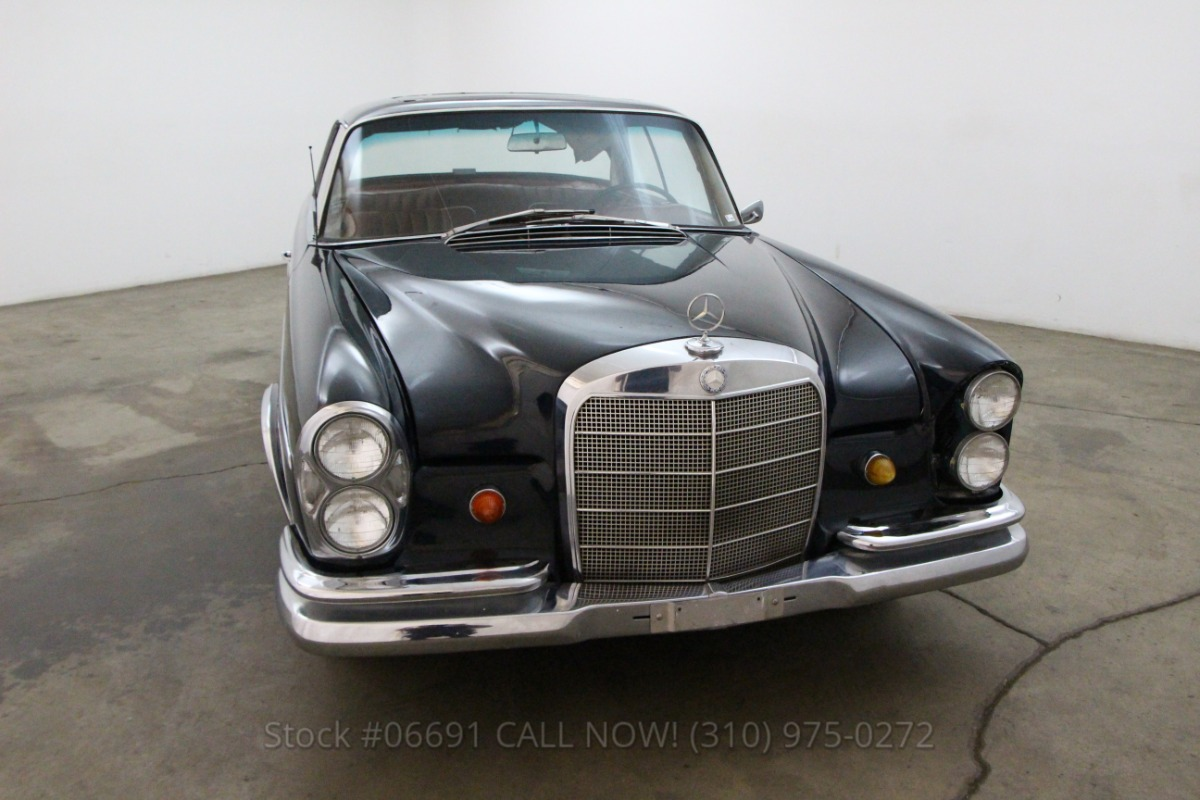 1964 mercedes benz 220se sunroof coupe beverly hills car for Mercedes benz service beverly hills