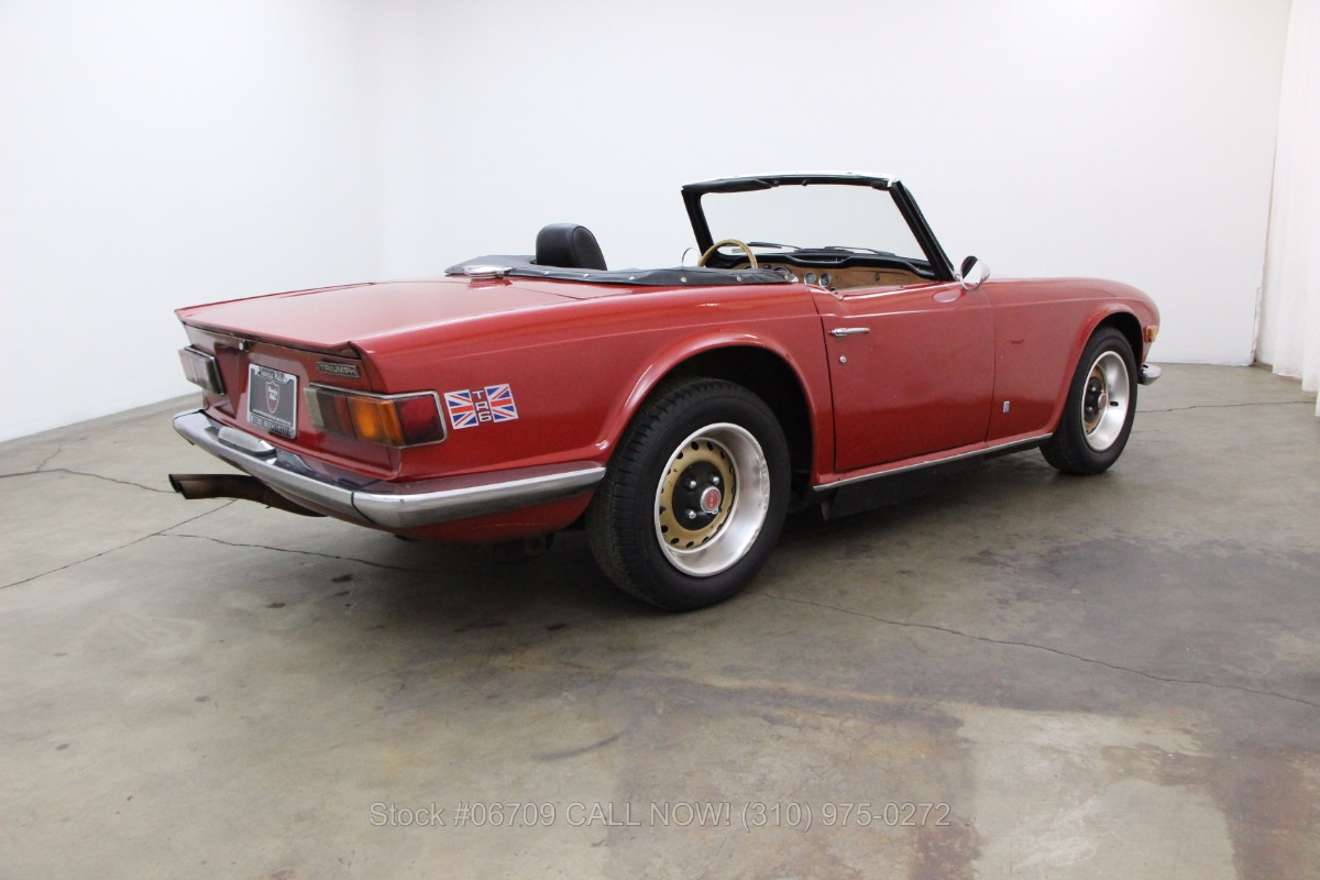 1974 Triumph TR6 | Beverly Hills Car Club