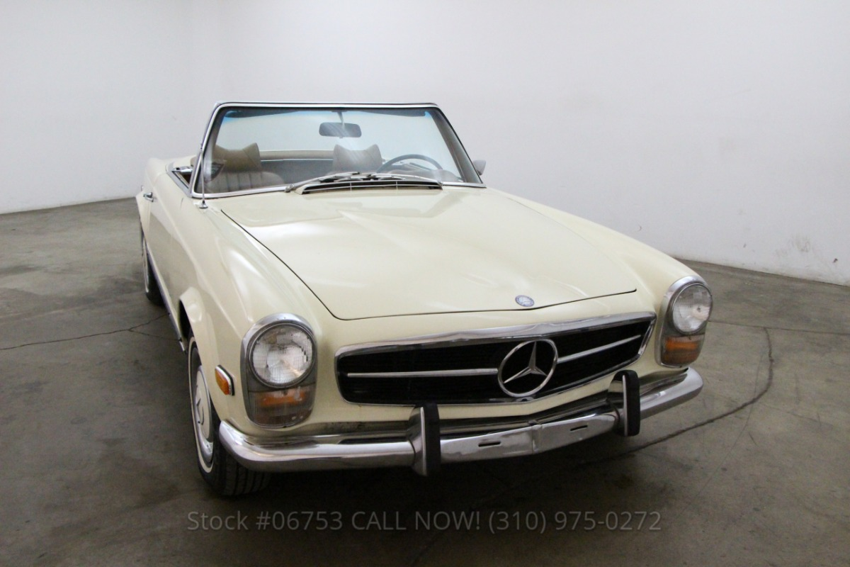 1969 mercedes benz 280sl convertible beverly hills car club for Beverly hills mercedes benz service