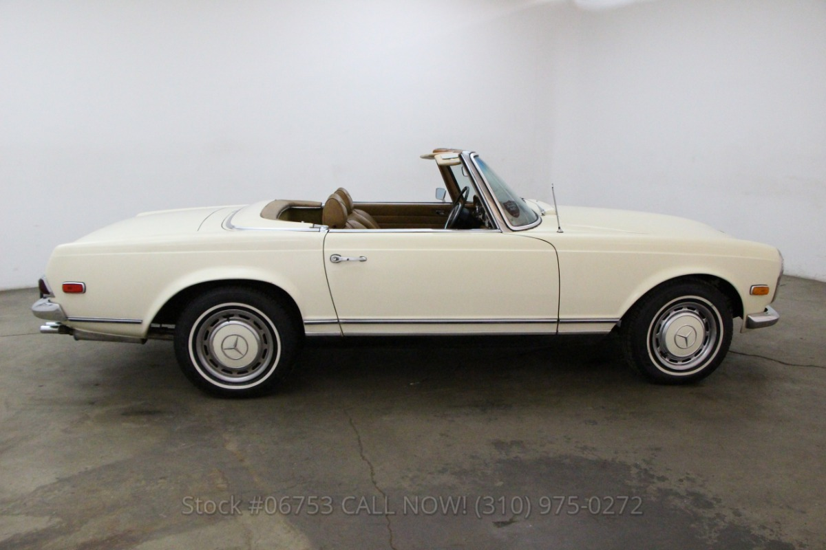 1969 mercedes benz 280sl pagoda convertible beverly for Mercedes benz 280sl pagoda